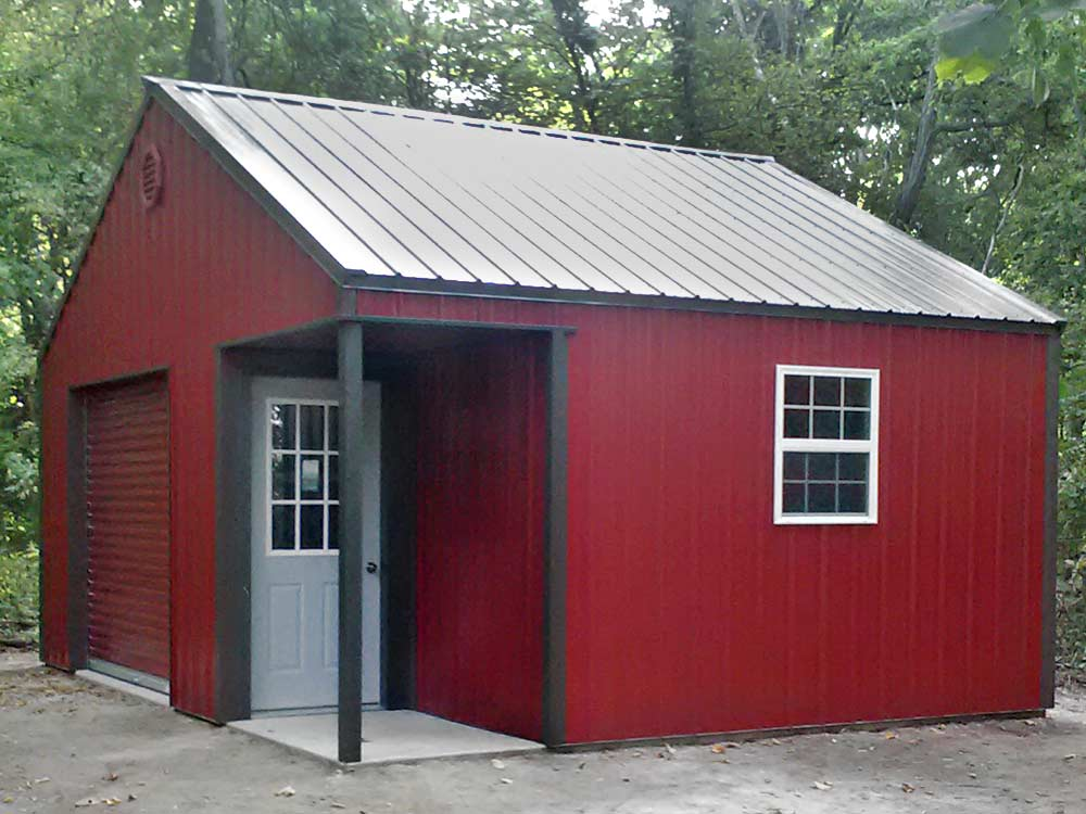Custom Barn built by Martin's Mini Barns