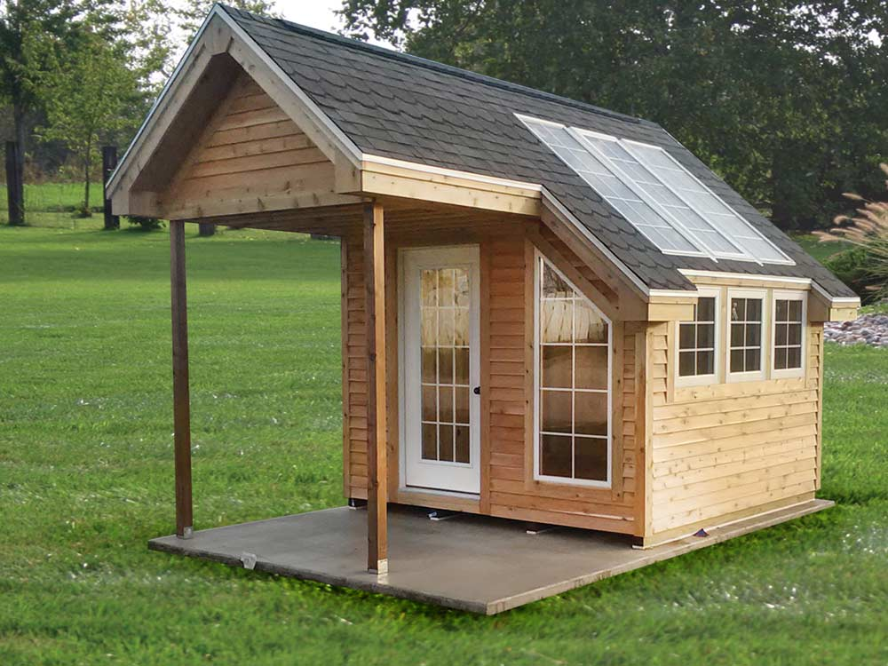 Custom Mini Barn. We can build a small structure to meet and need or design. Martin's Mini Barns