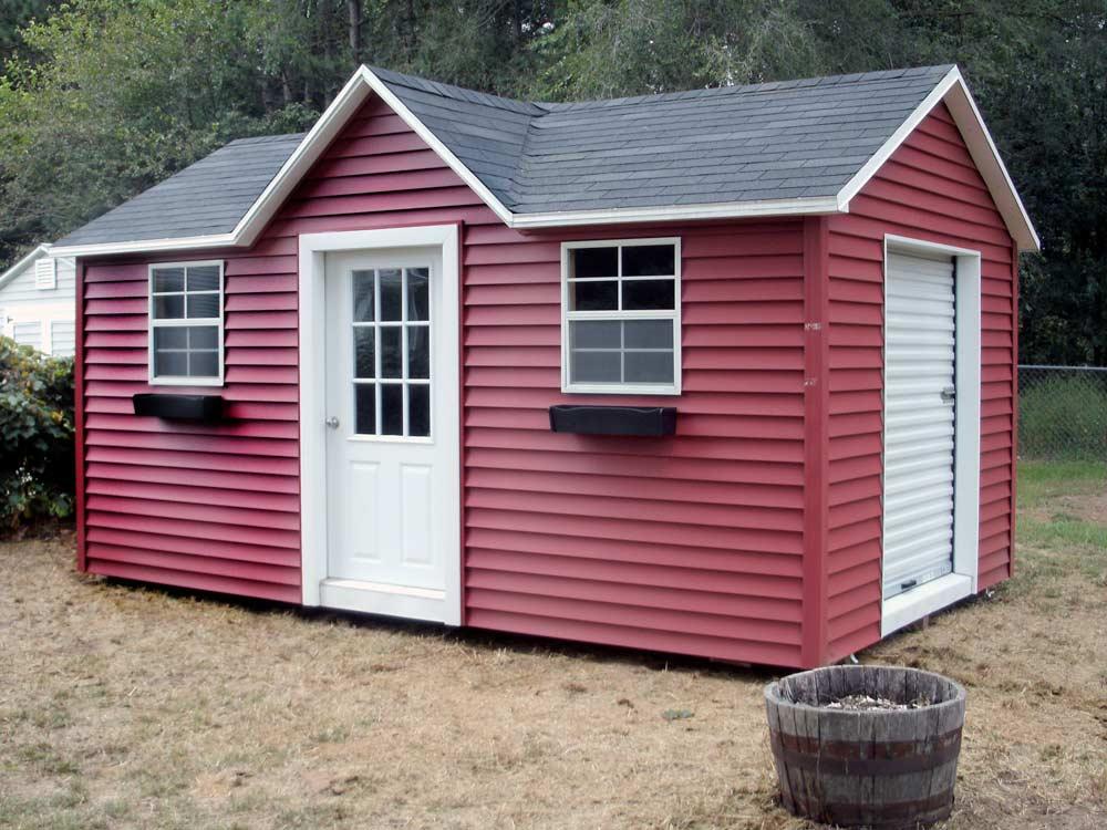 Doll House Mini Barn storage building Goshen Indiana