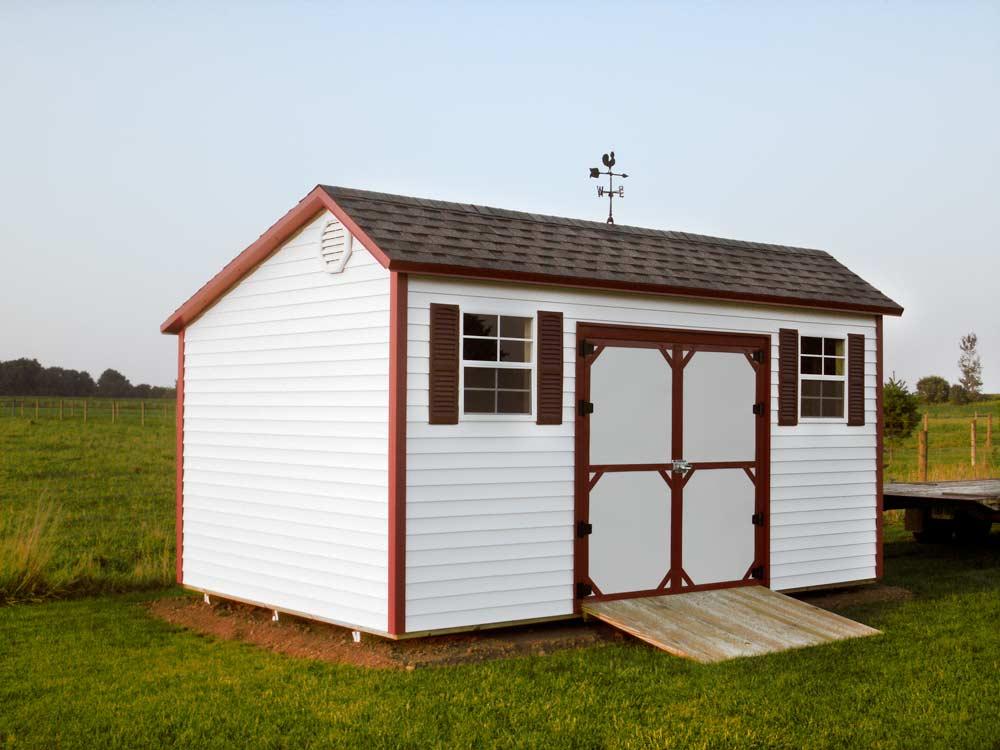 Garden Barn 1- Custom Built Shed by Martin's Mini Barns