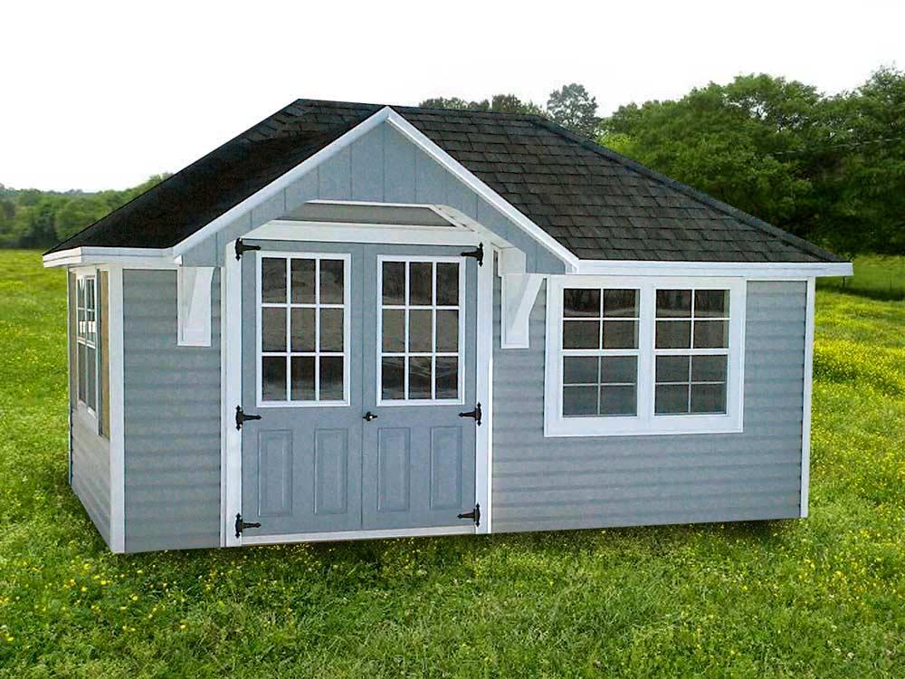Tea House Mini Barn by Martin's Mini Barns