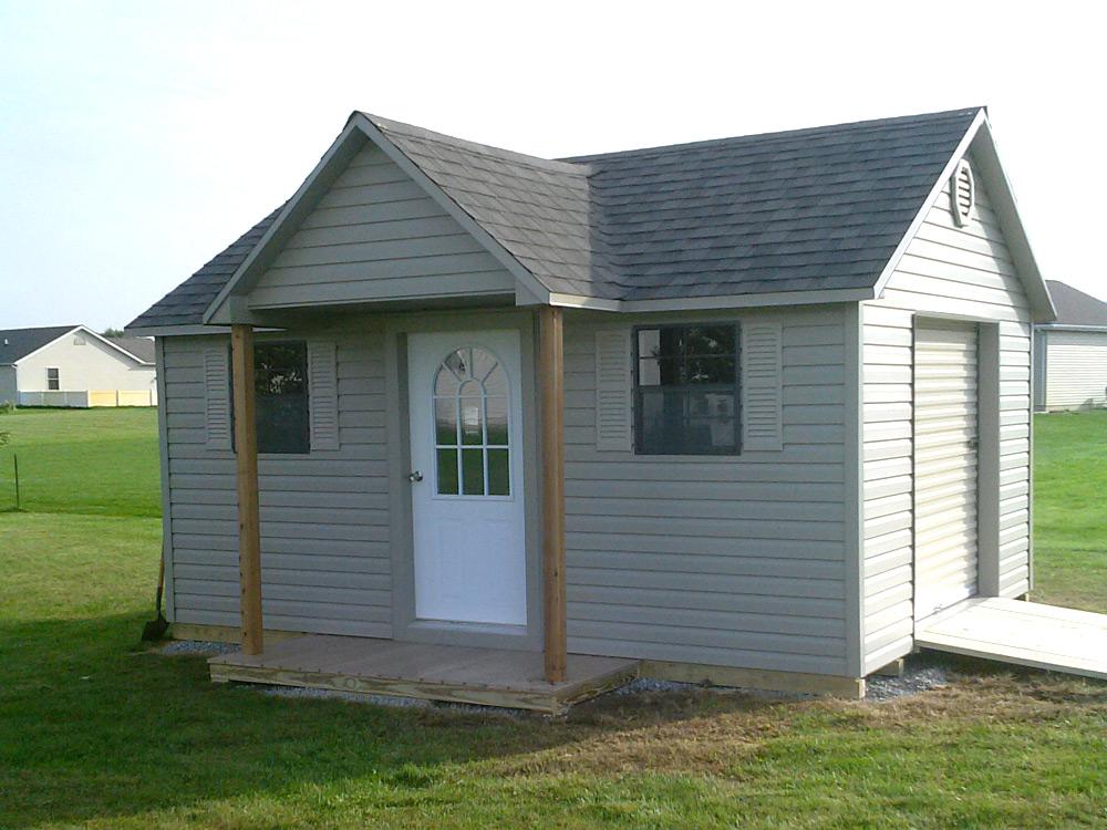 Doll House Storage barn for lawn equipment